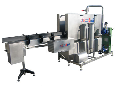 Doser machine for fluids