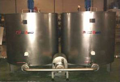 Preparation tanks