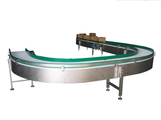 Conveyors with PP articulate belts